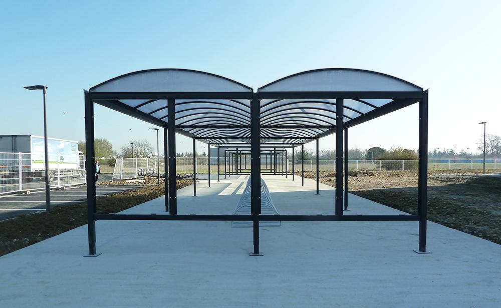 Abri Plus - Abri a velos - Varennes - Etablissement public spatial - Toulouse (31)