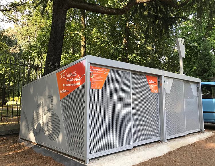 Abri Plus - BiclooPark - Consigne velos box sécurisée - Vel Box - Nantes Métropole (44)