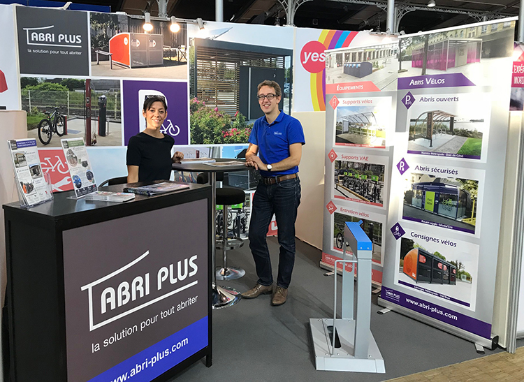 Abri Plus au Salon Autonomy 2018 - The Urban Mobility Summit in Paris