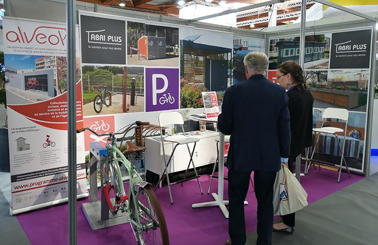 Abri Plus des solutions vélos innovantes subventionnées par le programme ALVEOLE de la FUB