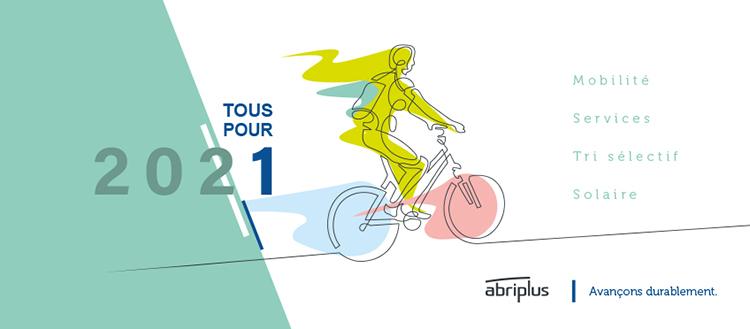 Abriplus - Meilleurs voeux 2021 - Avançons durablement