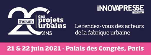 Abriplus à Paris au Forum des Projets Urbains les 21 et 22 Juin