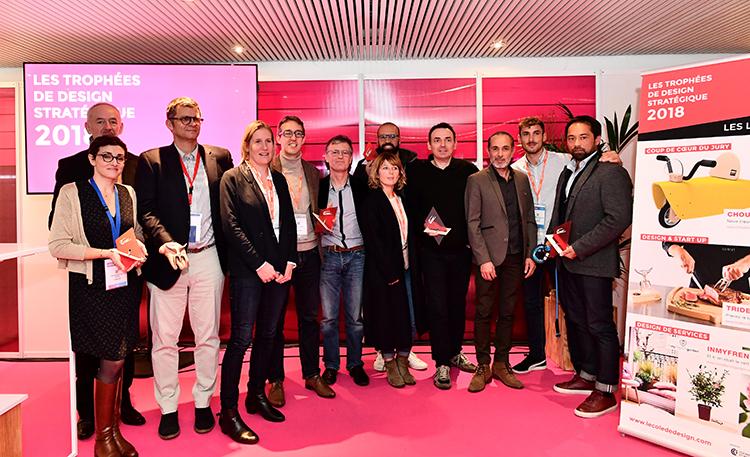Les laureats 2018 des Trophees du Design Stratégique au Salon des Entrepreneurs de Nantes