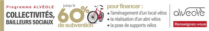 Programme subventions Abri Vélo Alvéole